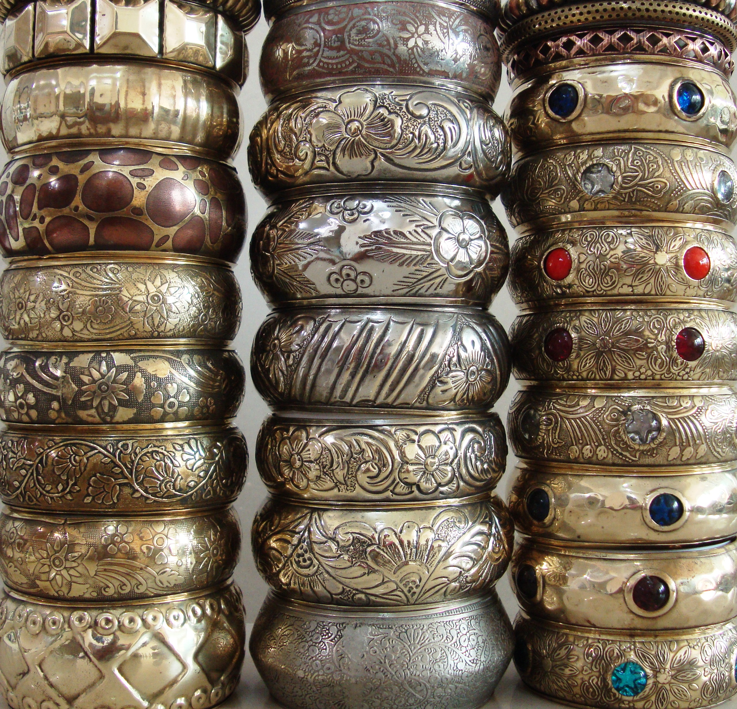 silk thread khushi bangles beaded wrapping handicrafts metal products for
